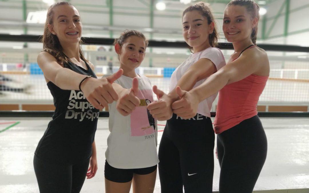 Molt bons resultats de les noies del CPA TONA en el retorn a les competicions i les proves socials